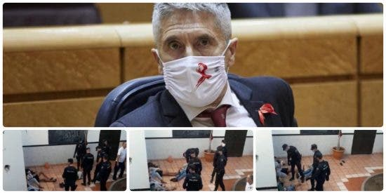 El forzudo español deja K.O al MENA que le ataca con unas tijeras y llorando a sus 4 compinches