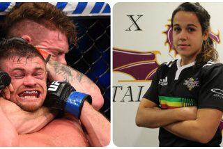 Una jugadora de rugby contraataca con una soberana paliza al atracador que intentó hacerle el 'mataleón'
