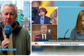 Lorenzo Milá entra en 'modo progre' y carga contra los medios que criticaron a TVE por el rótulo contra Leonor