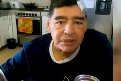 Este es el 'dramático' vídeo que subió Maradona a Internet antes de morir