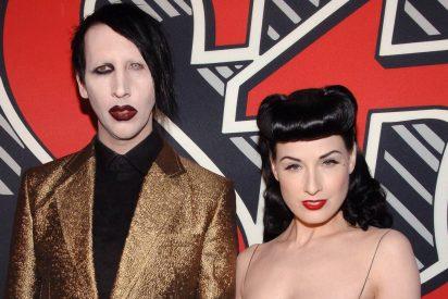 Dita von Teese, exesposa de Marilyn Manson, sale en defensa del cantante