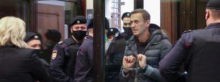 La Justicia de Putin condena al opositor Navalny a tres años y medio de trabajos forzados