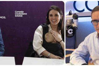 """Herrera: """"Podemos es un partido al servicio de un matrimonio con una red de babosos por debajo"""""""