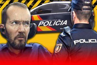 Pablo Echenique vuelve a apoyar a manifestantes que agreden a la Policía
