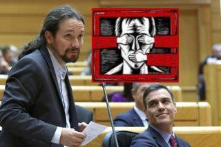 Iglesias exige controles extrajudiciales para los periodistas y Sánchez bendice la censura de prensa