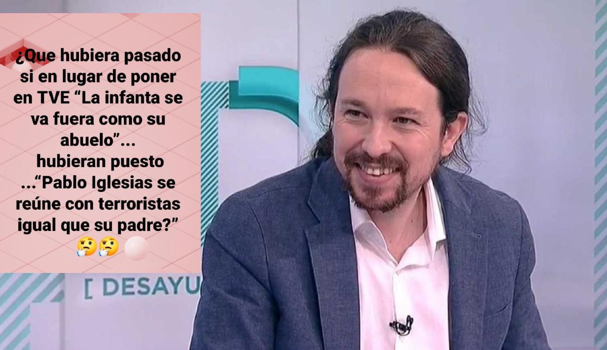 El alarmante dato que implica a Pablo Iglesias en una operación en TVE contra la Monarquía