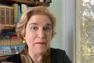 Pilar Rahola aplaude y jalea el ataque de los fascistas independentistas contra VOX en Vic