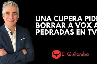 El Quilombo / Una ex diputada de la CUP llama a lanzar piedras a VOX con la complicidad de TV3
