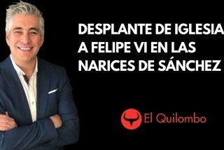 EN DIRECTO El Quilombo / Nuevo desplante de Iglesias a Felipe VI en las narices de Pedro Sánchez