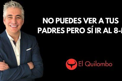 EN DIRECTO / El Quilombo: No puedes ver a tus familiares y amigos pero sí ir al 8-M