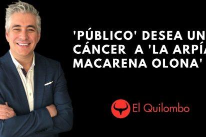 EN DIRECTO / El Quilombo: Pradera se pide un programa en TVE deseando un cáncer a Macarena Olona