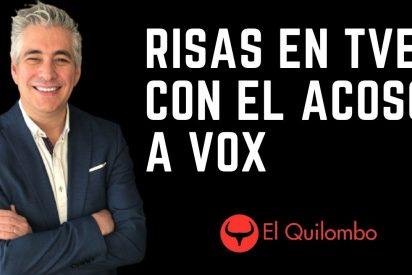 EL QUILOMBO / Risas de los tertulianos de TVE con el acoso a VOX