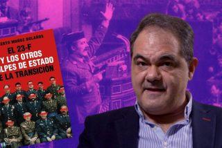 """Roberto Muñoz Bolaños, experto en el 23-F: """"La solución Armada fue la confluencia de varios golpes a la vez"""""""