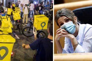 """El Déjà vu de los 'riders' en España por la ley de Yolanda Díaz: """"Nos están llevando por el camino de Venezuela"""""""