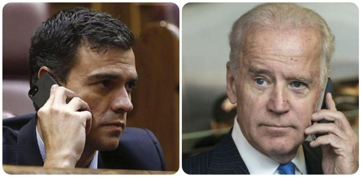 Biden desprecia a Sánchez y prefiere hablar antes con los presidentes de Kenia, Jordania e Irlanda
