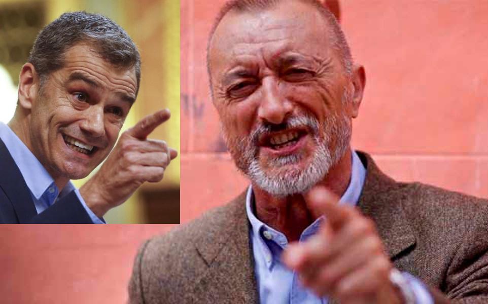 Pérez-Reverte aplaude en Twitter a Toni Cantó y este le responde festivo que espera que el elogio no sea producto de las copas