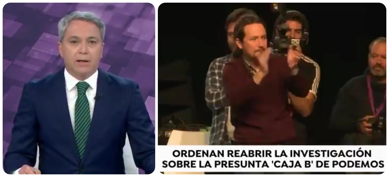 Vallés pone al borde de un ataque de nervios a las hordas de Podemos con nuevos datos sobre su 'Caja B'