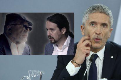 Villarejo manda una carta al juez denunciando que Podemos chantajea a Marlaska con 'información personal'