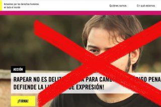Los cretinos de Amnistía Internacional, fieles a su tradición, se vuelcan en favor del delincuente Hasel