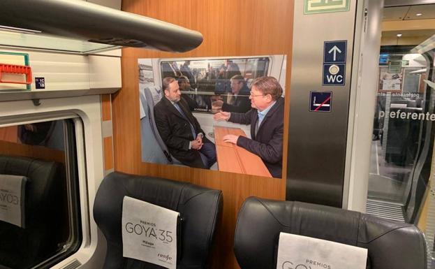 El ministro Ábalos utiliza RENFE para una vergonzosa e insólita promoción personal en los AVE