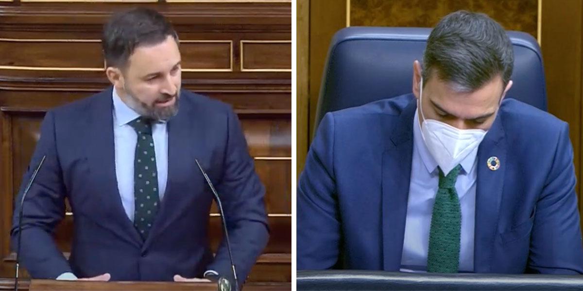 """Abascal amenaza con una nueva moción de censura a Sánchez y compromete al PP: """"¡Para que puedan redimirse!"""""""