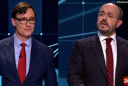 """Alejandro Fernández (PP) somete al exministro Illa: """"Va a volver a engañar a los catalanes... ¡por Pedro Sánchez!"""""""