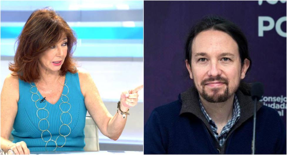 "Ana Rosa Quintana estalla y hunde en directo a Pablo Iglesias: ""No me ofende, me pareces despreciable"""
