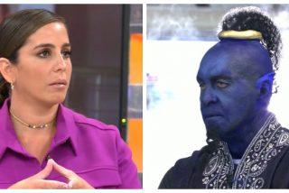 La imagen más surrealista: Kiko Matamoros pintado de azul para reírse de Anabel Pantoja