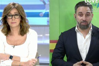 Abascal despide a Iglesias como 'contratista de matones' en el programa de Ana Rosa