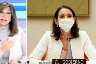 El formidable 'viaje' de Ana Rosa Quintana a la ministra de Turismo por decir bravuconadas