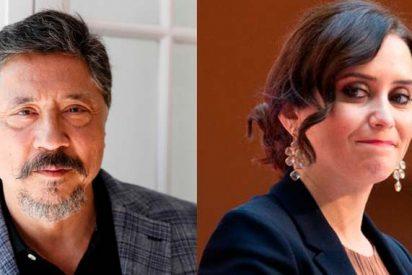 """El castrista Carlos Bardem pasa del insulto racista a VOX al machista contra Ayuso: """"¡Sociópata!"""""""