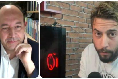 """El youtuber Roma Gallardo baja los humos a Gonzalo Bernardos: """"¿Qué apoyo a VOX? ¡Deje de hacer el ridículo!"""""""