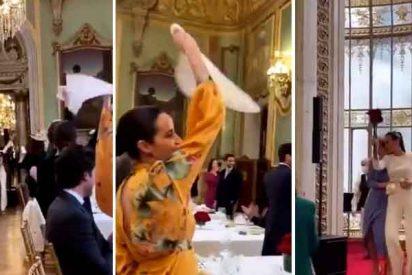 España estalla con este vídeo viral: la boda de un canterano del Madrid en un salón abarrotado y sin mascarillas