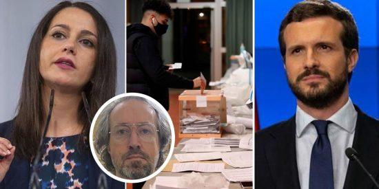 Girauta señala a Arrimadas, Casado y los catalanes abstencionistas como grandes culpables de la debacle del 14-F