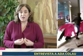 """Sucia insinuación de Colau contra los Mossos desde TVE: """"Nadie por ir a una manifestación se tiene que exponer a perder un ojo"""""""