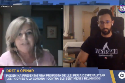 Consuelo Ordóñez dinamita la encerrona de la TV valenciana aliada con el enaltecedor etarra Valtonyc