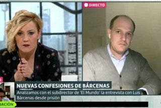 El panfleto de Dina Bousselham apunta y dispara contra Cristina Pardo por dar voz a Inda y Urreiztieta