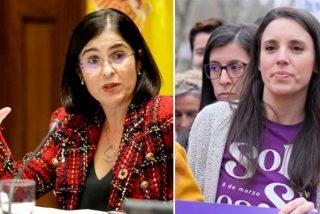 """Carolina Darias desautoriza a Irene Montero y su 8-M: """"Por coherencia a la responsabilidad, no ha lugar"""""""
