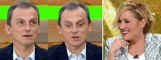 Cristina Pardo tiene que apretar poco a Pedro Duque para que pase las de Caín para censurar a Echenique