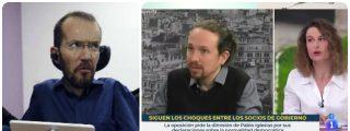 Echenique, rabioso contra una periodista de la SER por su zasca a Iglesias al dudar de la democracia española