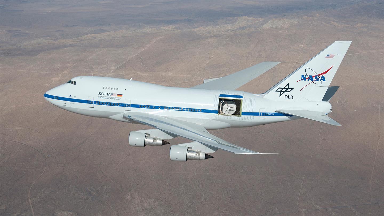 Así analiza el espacio el telescopio aeromóvil SOFIA