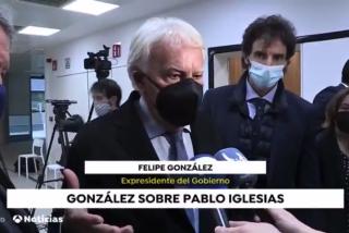 """Felipe González tiene la solución para liquidar a Pablo Iglesias: """"¡No quiero que saque rápido la pata!"""""""