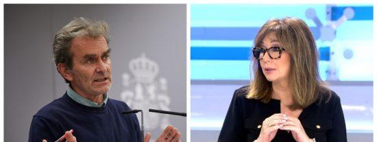 """Ana Rosa Quintana despluma a Fernando Simón por promover el 8-M: """"Más que un experto es un listo de capirote"""""""