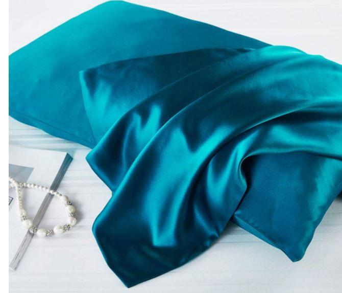 fundas de almohada de seda para la piel y el cabello