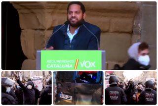"""VOX responde así a la última agresión en Cataluña: """"No nos van a echar de nuestra tierra"""""""