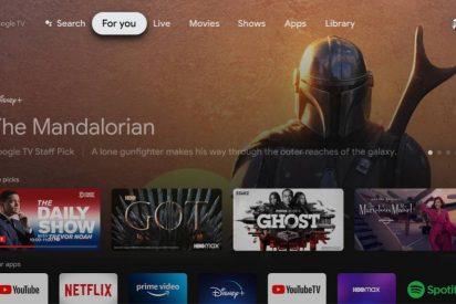 El 'modo básico' de Google TV permitirá deshabilitar las funciones inteligentes
