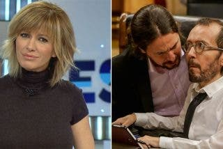 Podemos contra la prensa: el panfleto de Dina se lanza a por Susanna Griso y el hooligan Echenique lo jalea