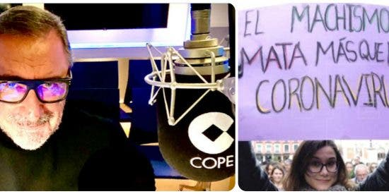 """Carlos Herrera: """"Hay taradas que defienden celebrar el 8-M"""""""
