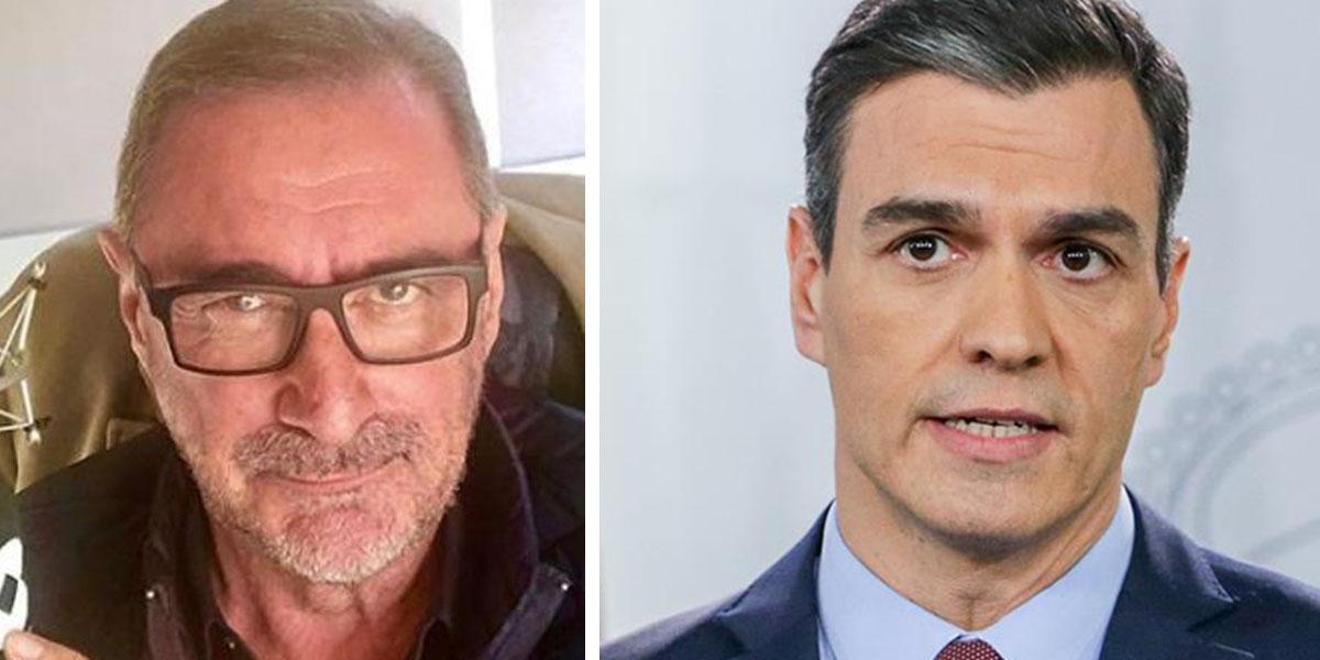"""Herrera 'coge de la pechera' a Sánchez: """"El coautor intelectual, Pedrito, eres tú"""""""