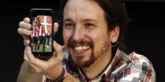 Ni una sola explicación sobre la asesora-niñera, pero Iglesias se lanza a por El Chiringuito mezclando fútbol con su sectarismo
